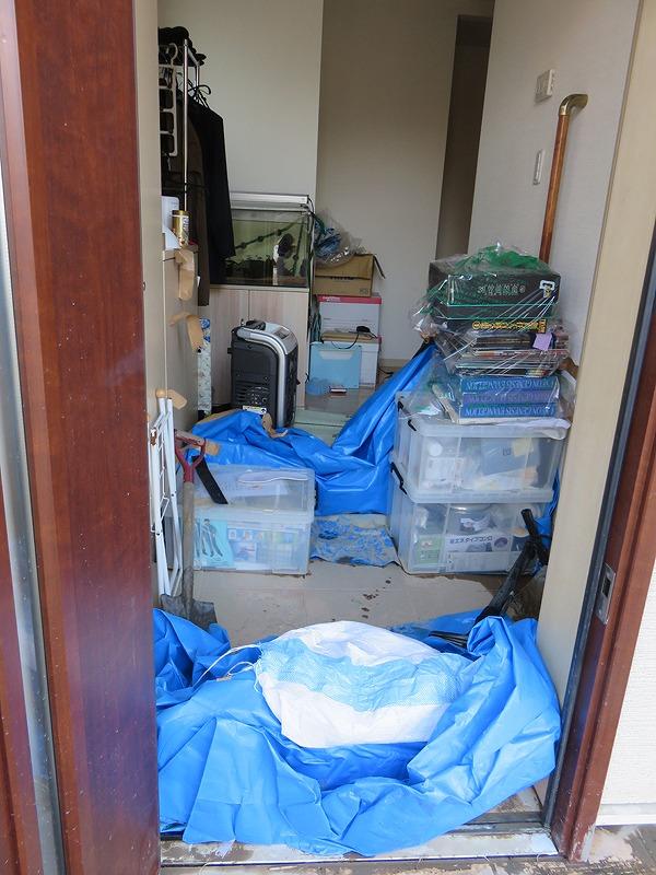 自宅の浸水を防いだバリケード.jpg